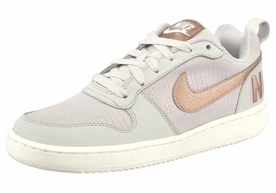Nike »Court Borough Low« Sneaker in beige-goldfarben