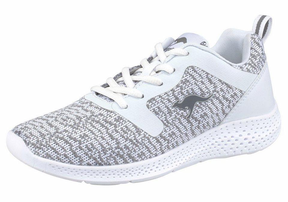KangaROOS »K-V II« Sneaker in weiß-grau