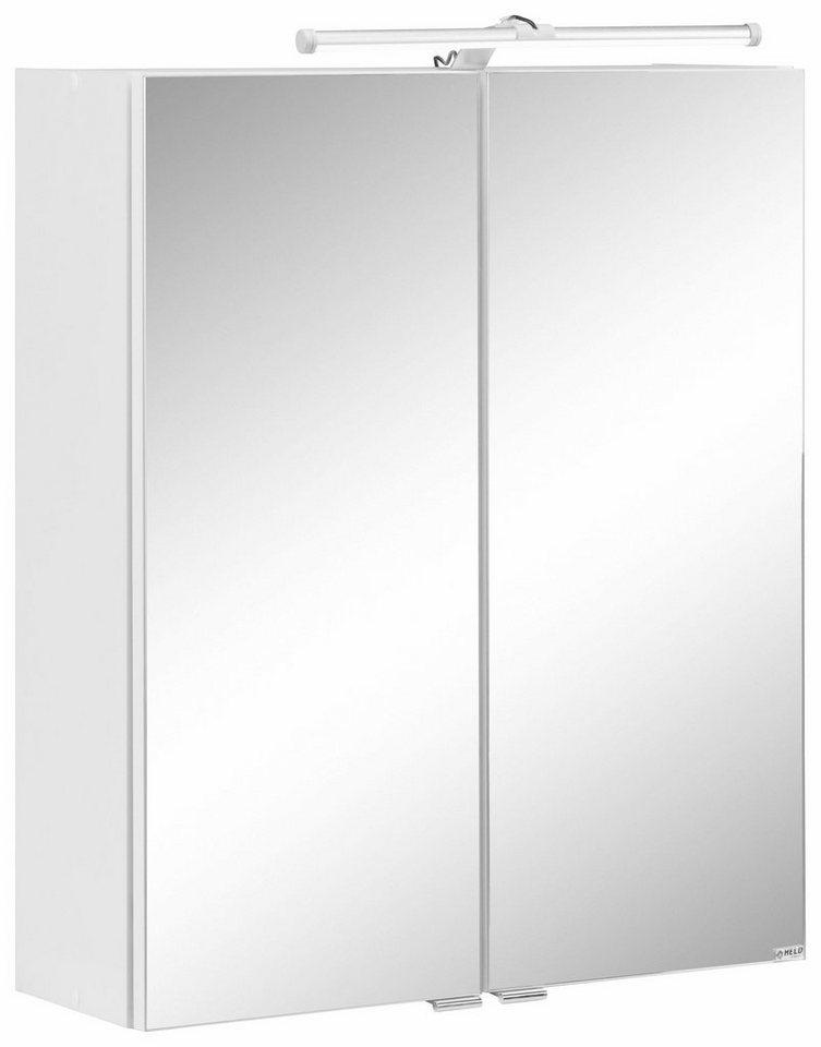 Held Möbel Spiegelschrank »Luna« in weiß