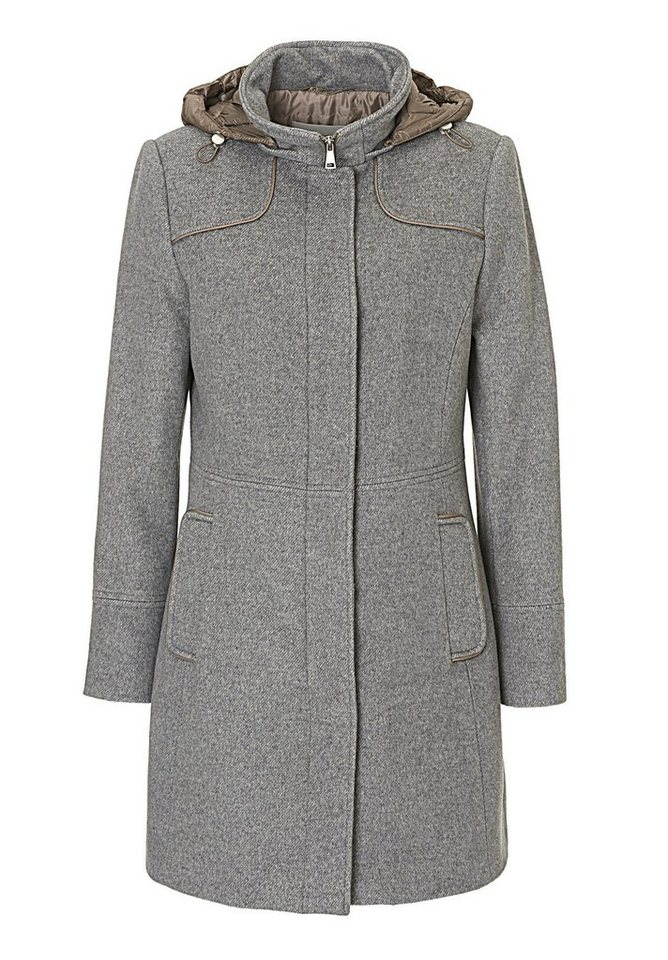 Betty Barclay Wolljacke in Grey/Taupe - Grau