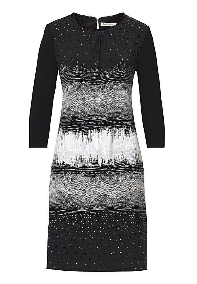 Betty Barclay Kleid in Schwarz/Weiß - Grau