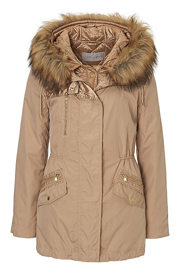 Betty Barclay Jacke in Golden Sand - Braun
