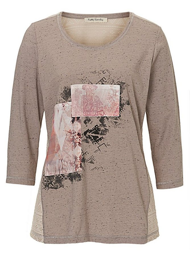 Betty Barclay Shirt in Taupe/Rosa - Braun