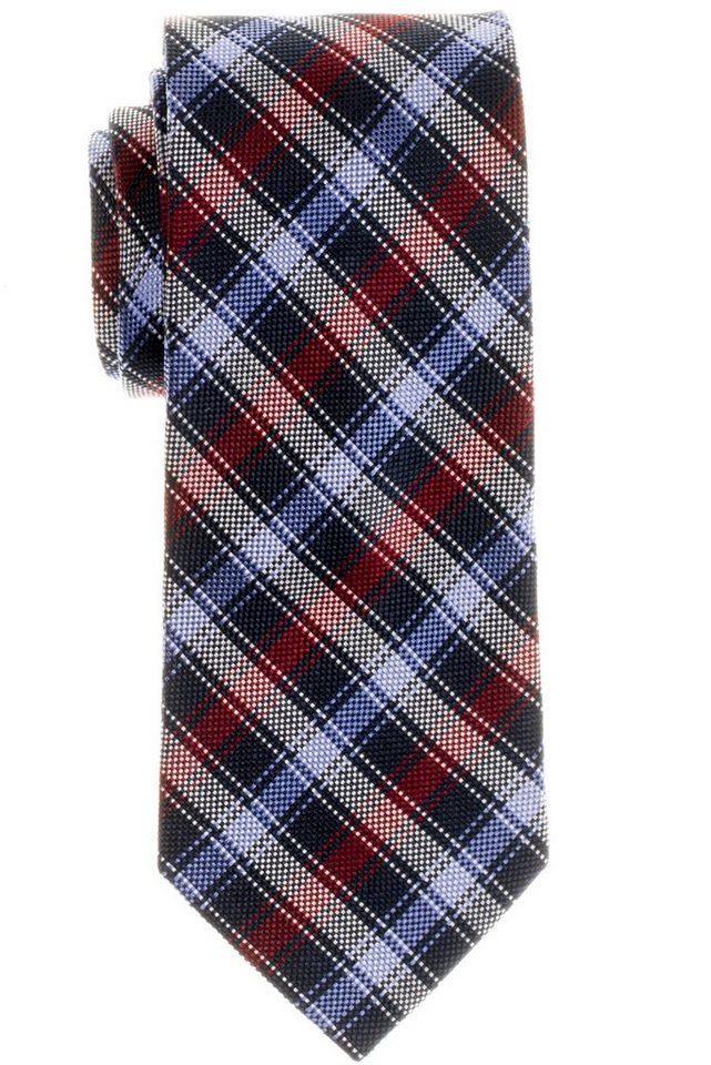 ETERNA Krawatte »breit« in rot/blau/schwarz