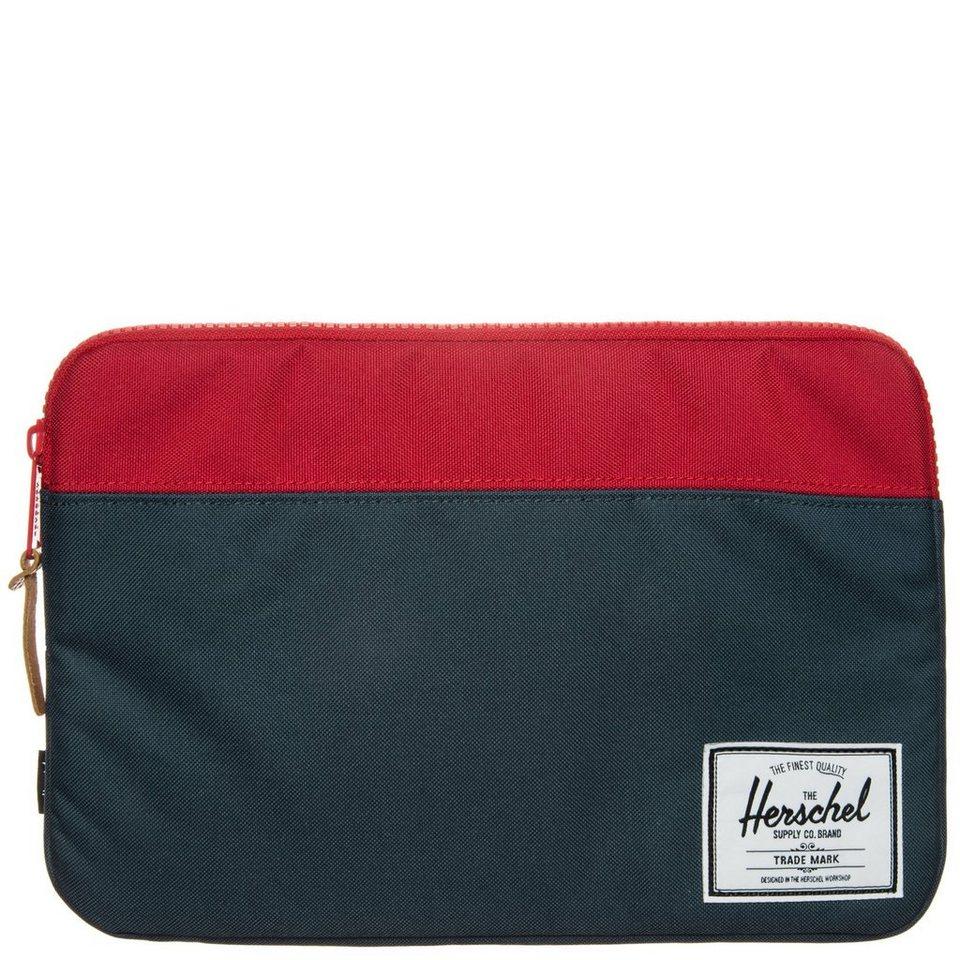 Herschel Anchor Notebook Tasche in blau / rot