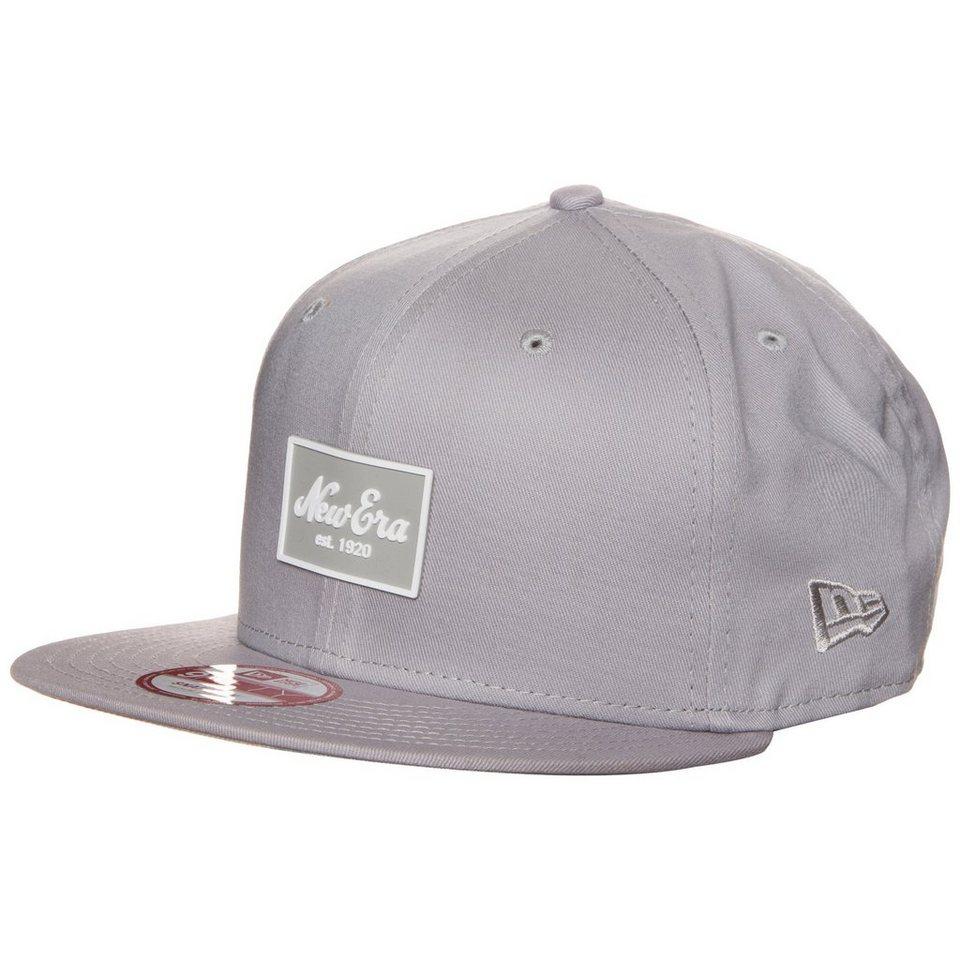 New Era 9FIFTY New Era Patched Tone Snapback Cap in grau
