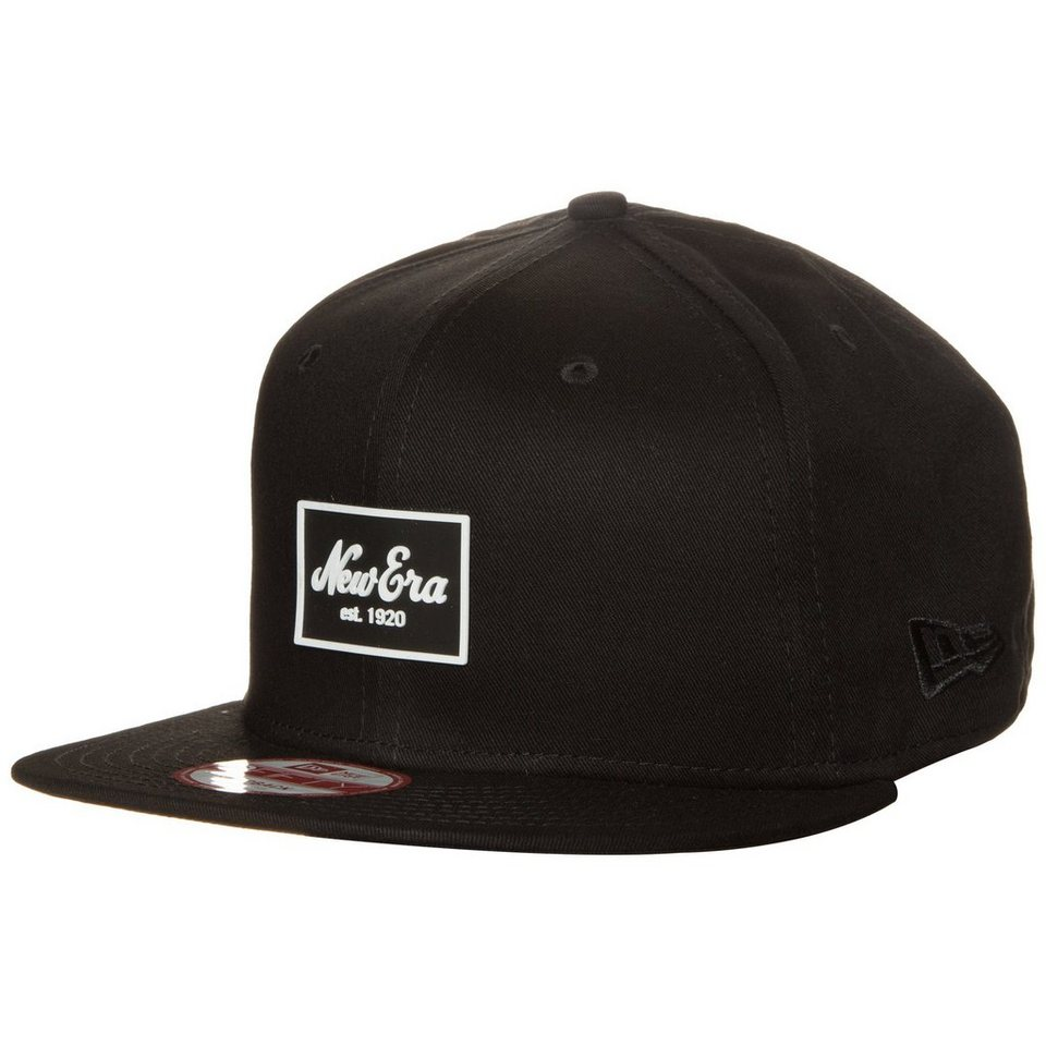 New Era 9FIFTY New Era Patched Tone Snapback Cap in schwarz