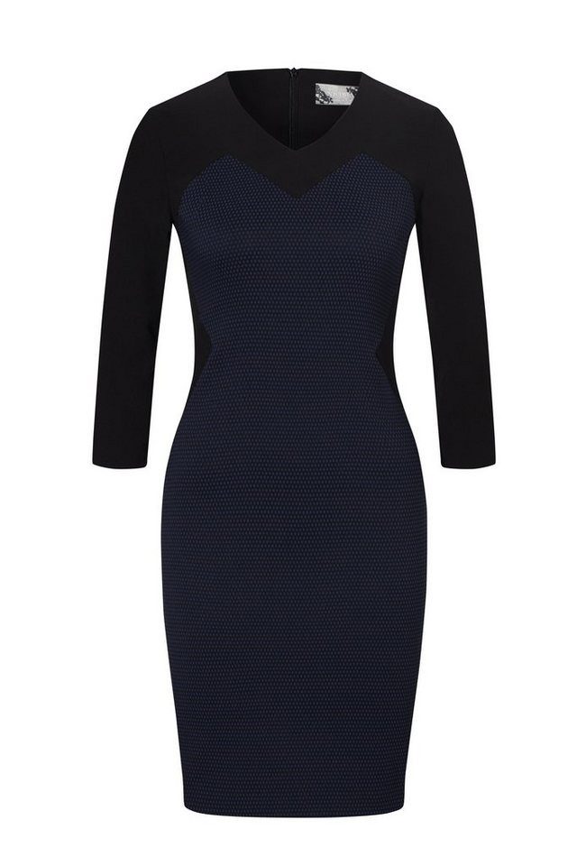 NICOWA Kleid in blue/black