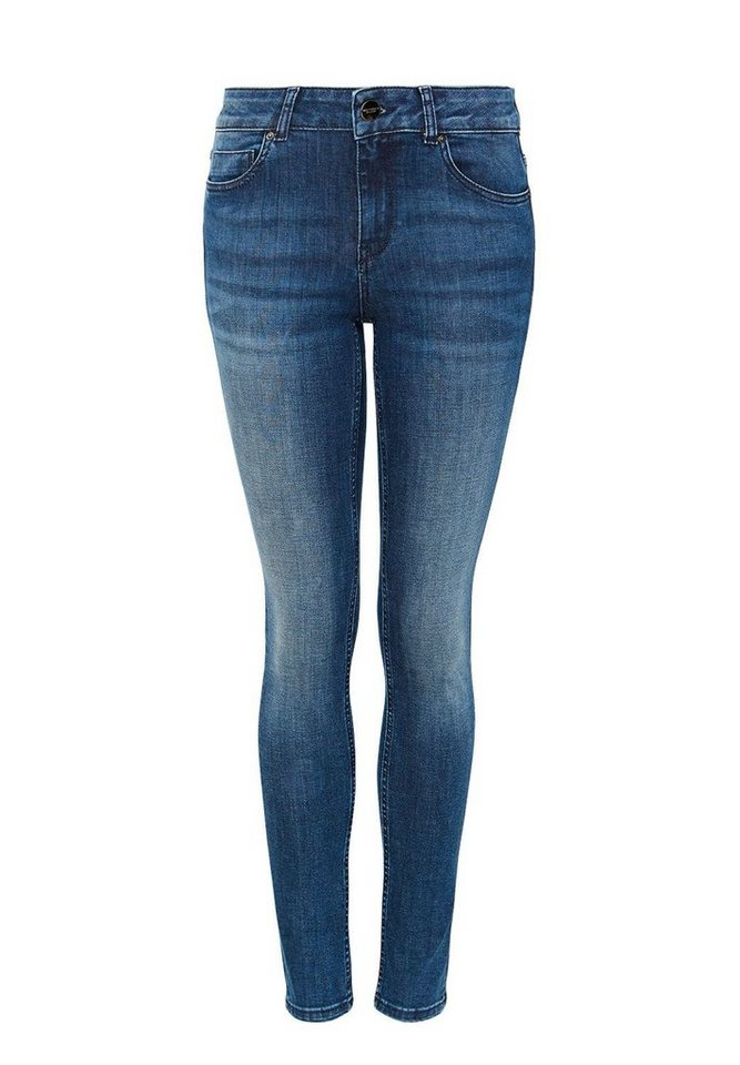 HALLHUBER Skinny-Jeans in middle blue denim