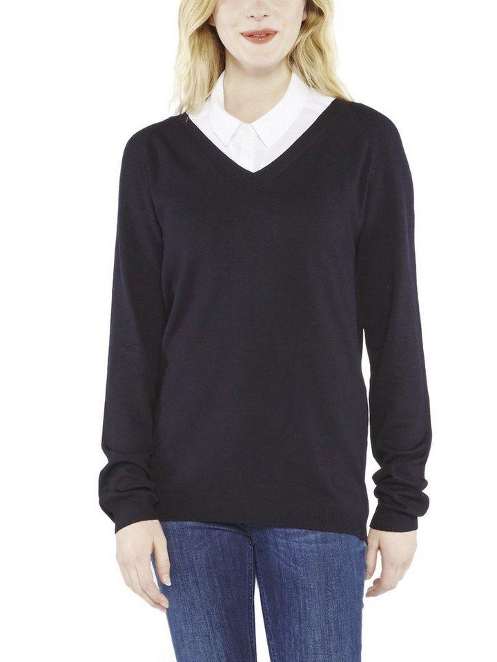 COLORADO DENIM Pullover »Miranda« in black