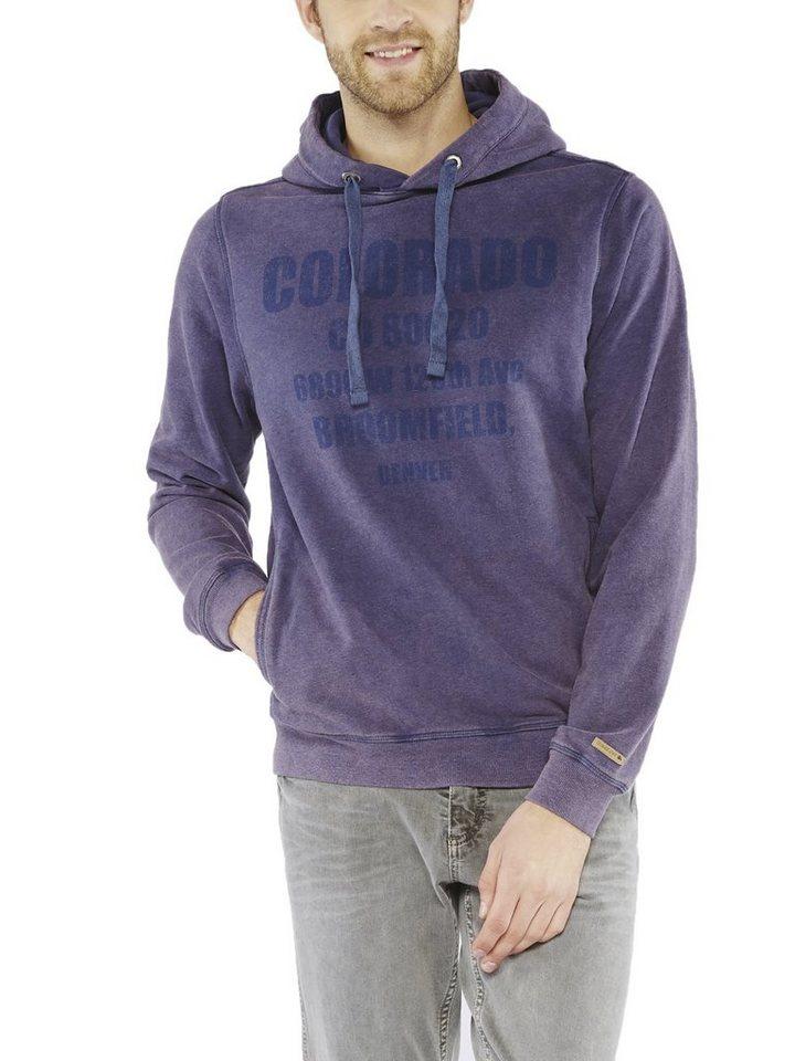 COLORADO DENIM Sweatshirt »Lucas« in nightshadow