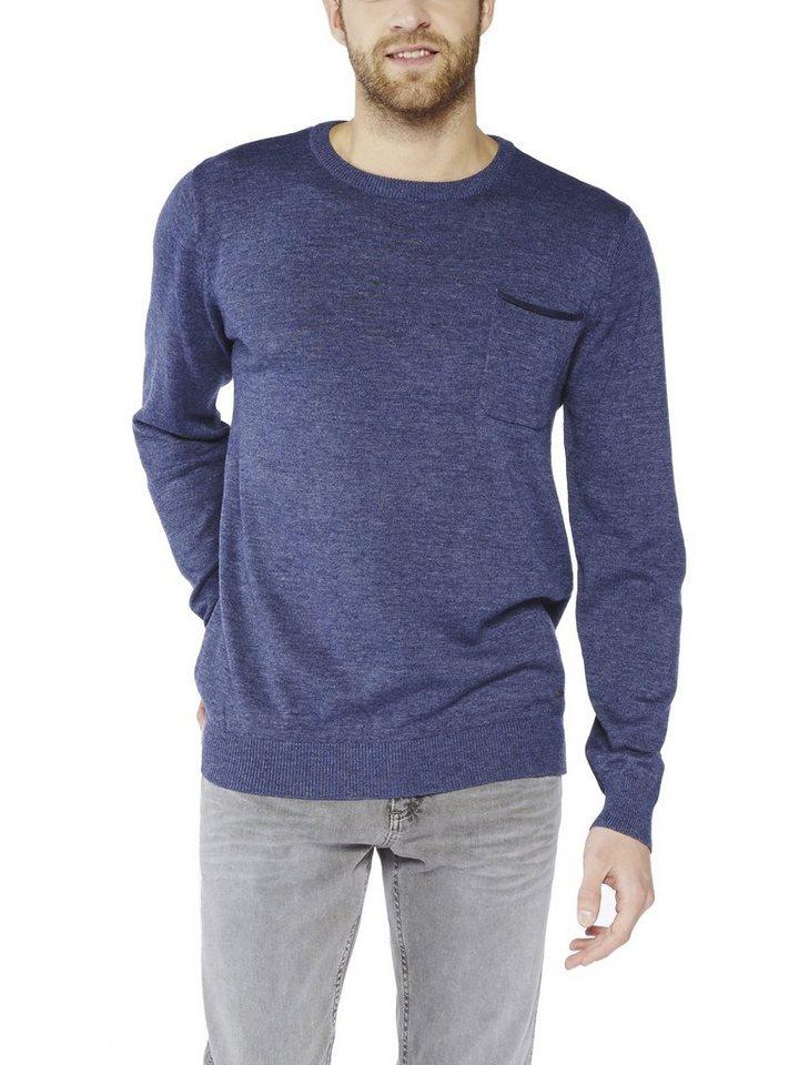 COLORADO DENIM Sweatshirt »Justus« in nightshadow
