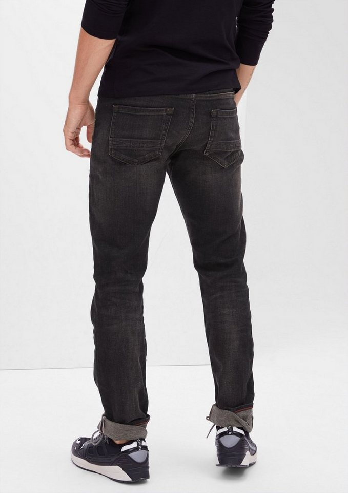 s.Oliver RED LABEL Close Slim: Lässige Stretch-Jeans in grey denim stretch
