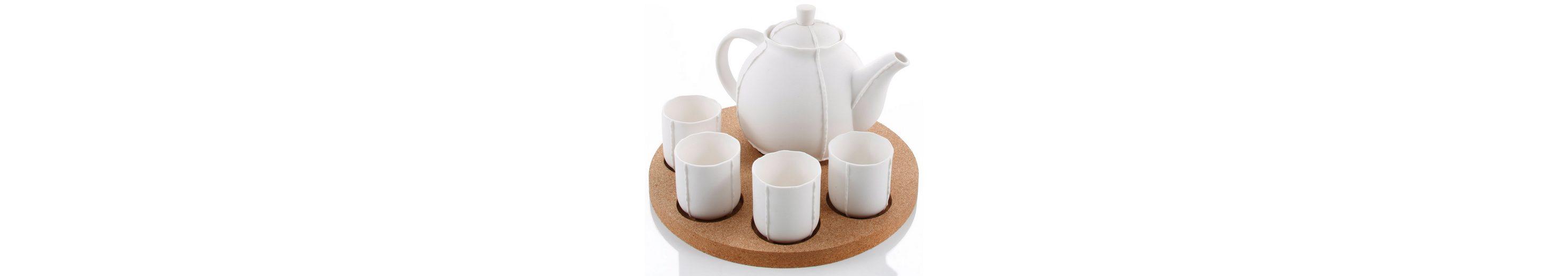 Tee-Set, Porzellan