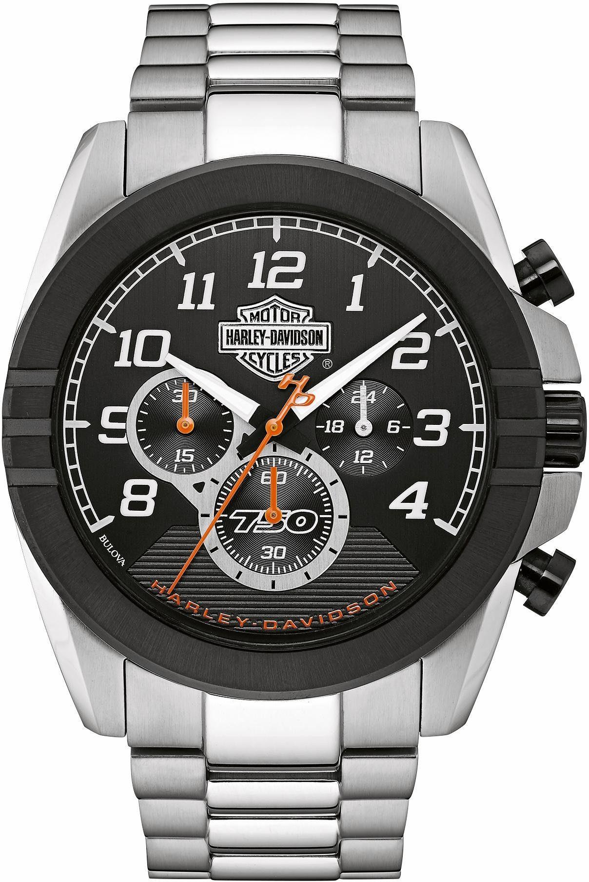 Harley Davidson Chronograph »Street, 76B175«