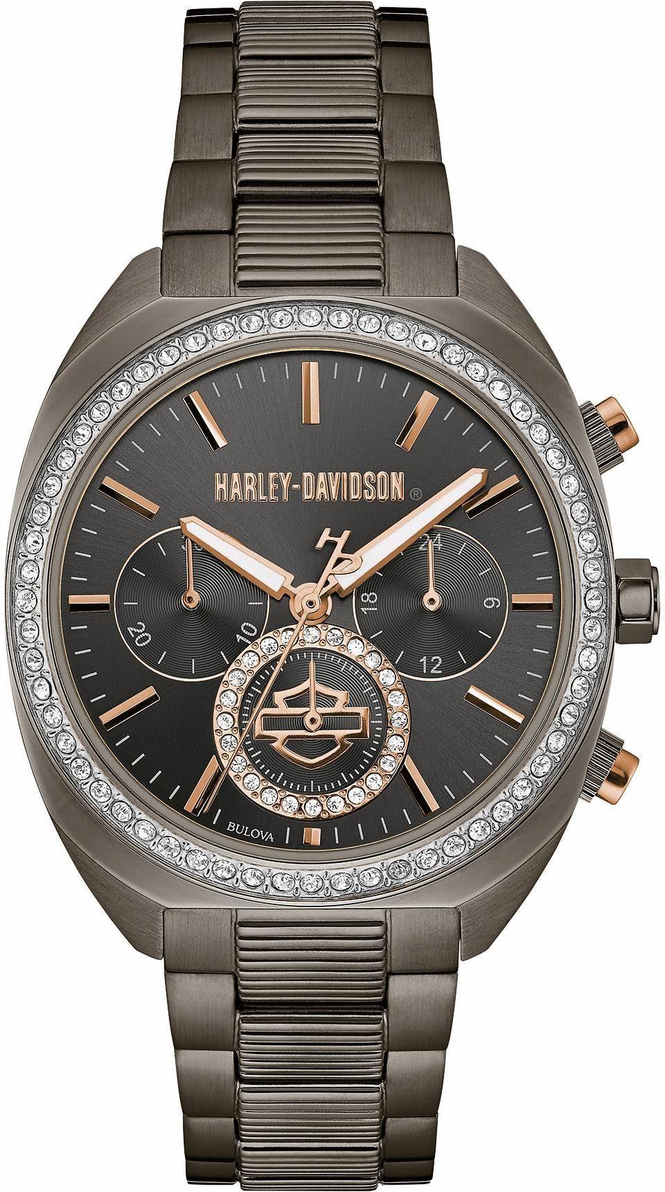 Harley Davidson Chronograph »Lady Gear, 78M103«