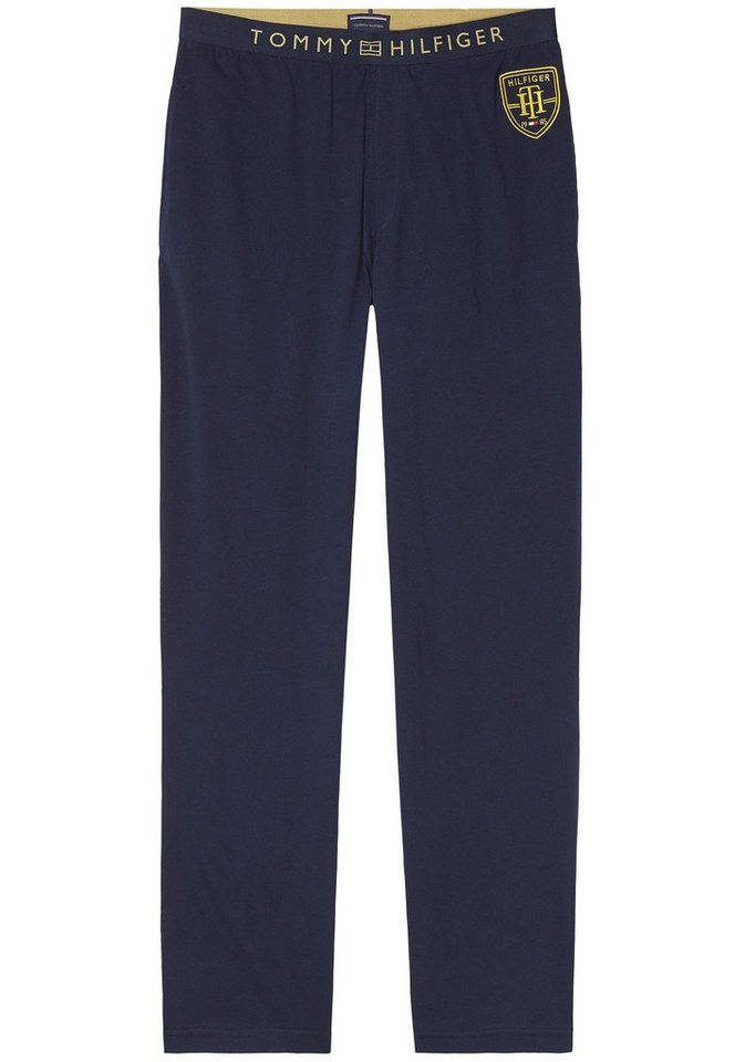Tommy Hilfiger lange Homewearhose in navy