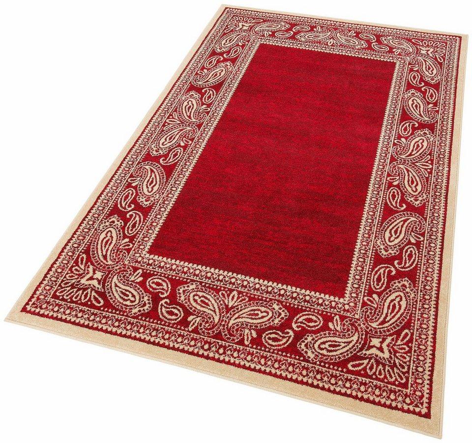 Teppich, my home, »Maite«, Melange-Effekt, gewebt in rot