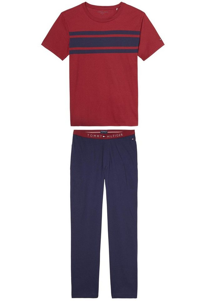 Tommy Hilfiger Pyjama in bordeaux