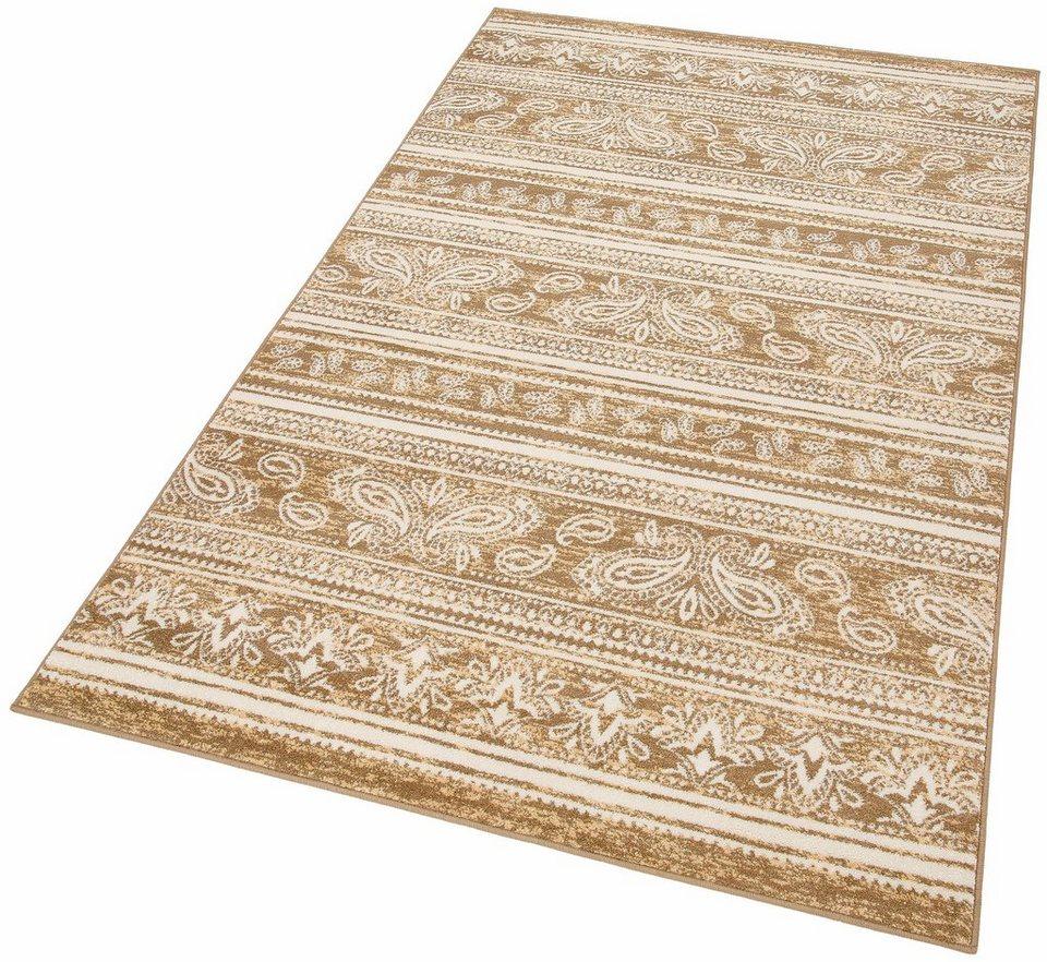 Teppich, my home, »Amber«, gewebt in braun