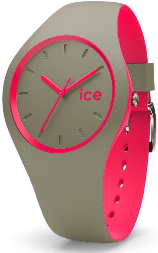 ice-watch Quarzuhr »ICE duo - Khaki Pink, DUO.KPK.U.S.16« in khaki-pink