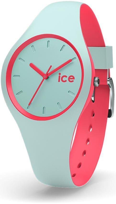 ice-watch Quarzuhr »ICE duo - Mint Coral, DUO.MCO.S.S.16« in mint-coral
