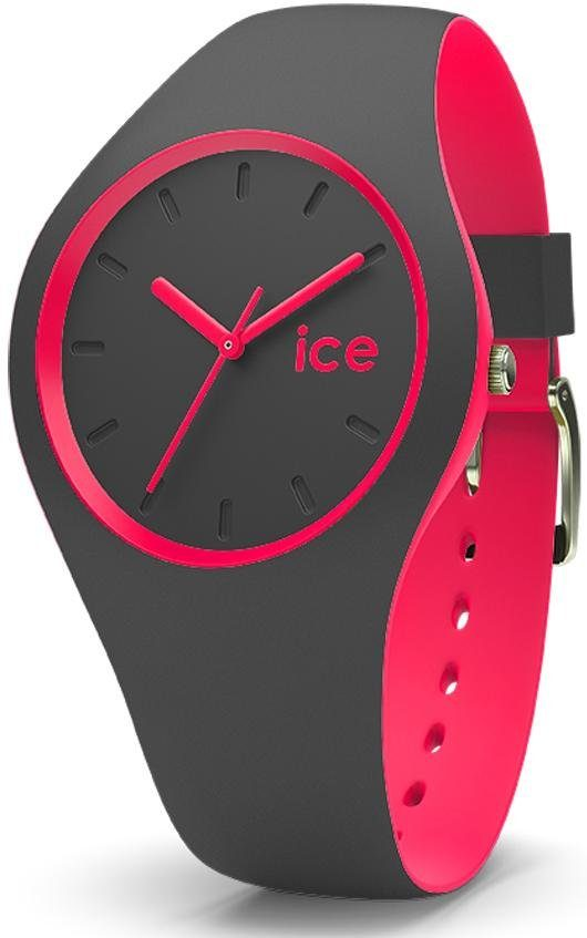 ice-watch Quarzuhr »ICE duo - Anthracite Pink, DUO.APK.U.S.16«