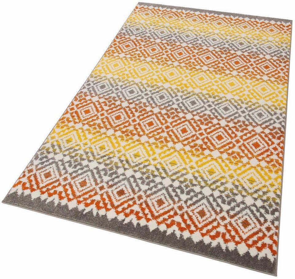 Teppich, my home, »Nina«, gewebt in orange