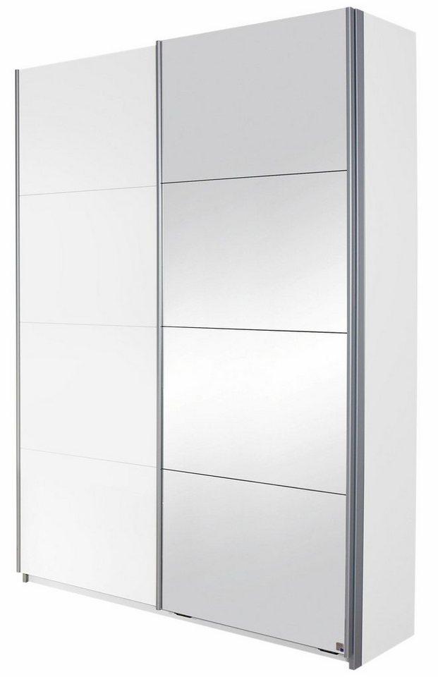 rauch garderobenschrank minosa mit spiegel breite 136. Black Bedroom Furniture Sets. Home Design Ideas