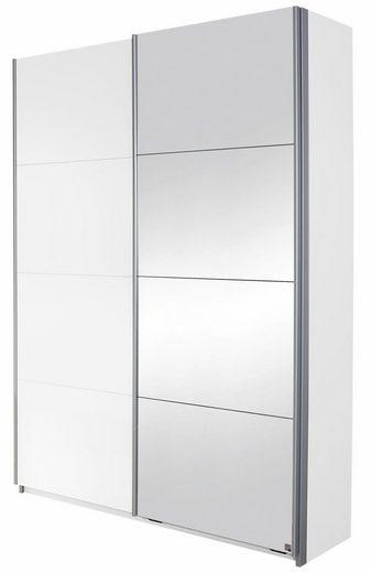 rauch BLUE Garderobenschrank »Minosa« mit Spiegel, Breite 136 cm
