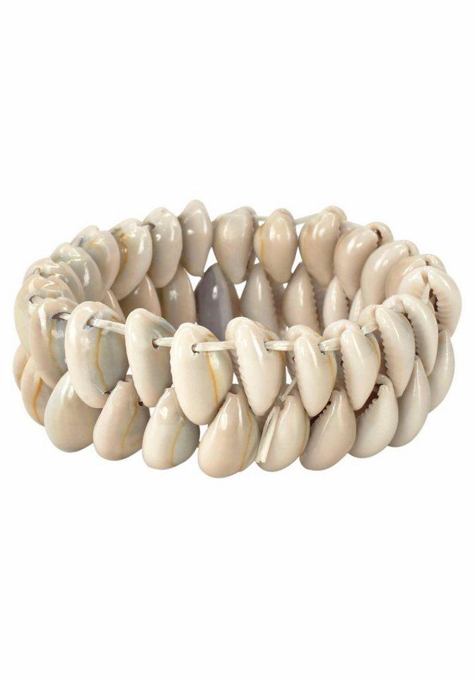 J. Jayz Armband mit Muscheln in natur