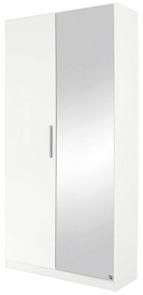rauch schuhschrank minosa mit spiegel breite 91 cm online kaufen otto. Black Bedroom Furniture Sets. Home Design Ideas