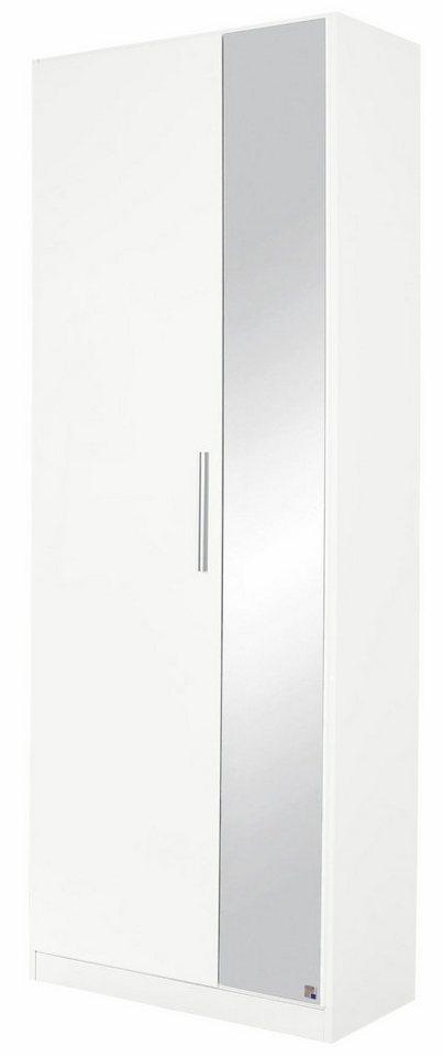 Rauch Schuhschrank »Minosa«, mit Spiegel, Breite 69 cm in weiß matt