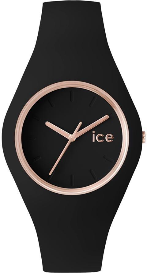ice-watch Quarzuhr »Ice glam - Rosé Gold Black, ICE.GL.BRG.U.S.14« in schwarz