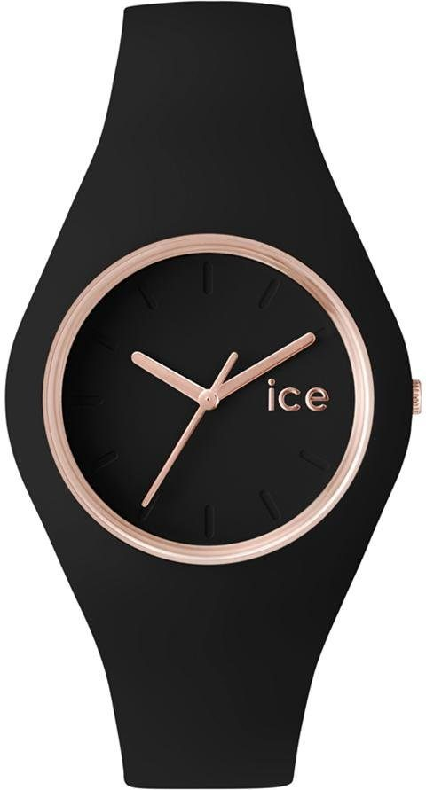 ice-watch Quarzuhr »Ice glam - Rosé Gold Black, ICE.GL.BRG.U.S.14«