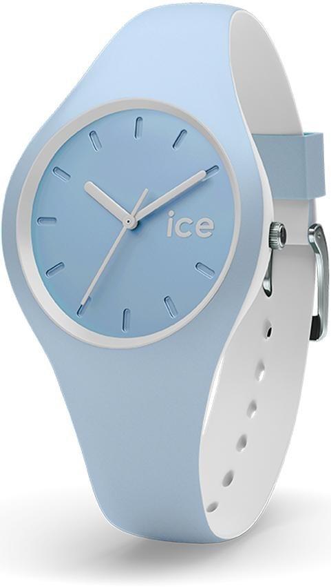 ice-watch Quarzuhr »ICE duo - White Sage, DUO.WES.S.S.16« in blau-weiß