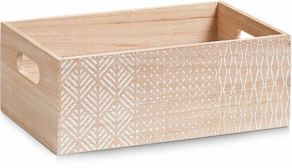 Home affaire Aufbewahrungs-Box »Nordic« in weiß