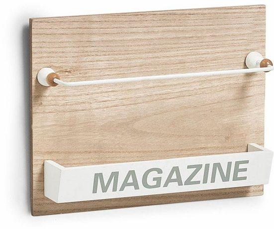 Home affaire Zeitungsständer »Nordic«, Wand-Magazinhalter