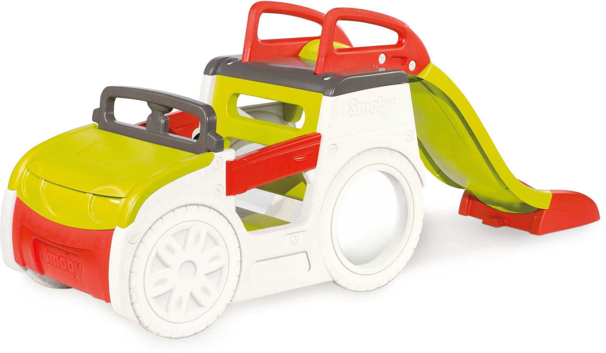Smoby Spielcenter mit Rutsche, »Abenteuer Spielauto«