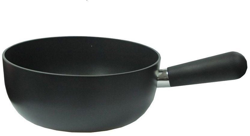 tvs Fondue-Topf, geschmiedetes Aluminium, Induktion, »Swiss Fondue« in schwarz