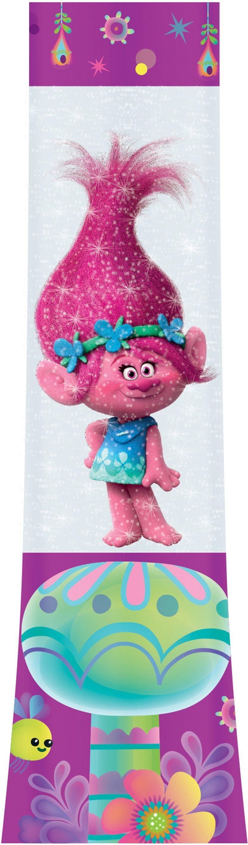 JOY TOY DreamWorks Trolls Poppy LED Glitzerlampe