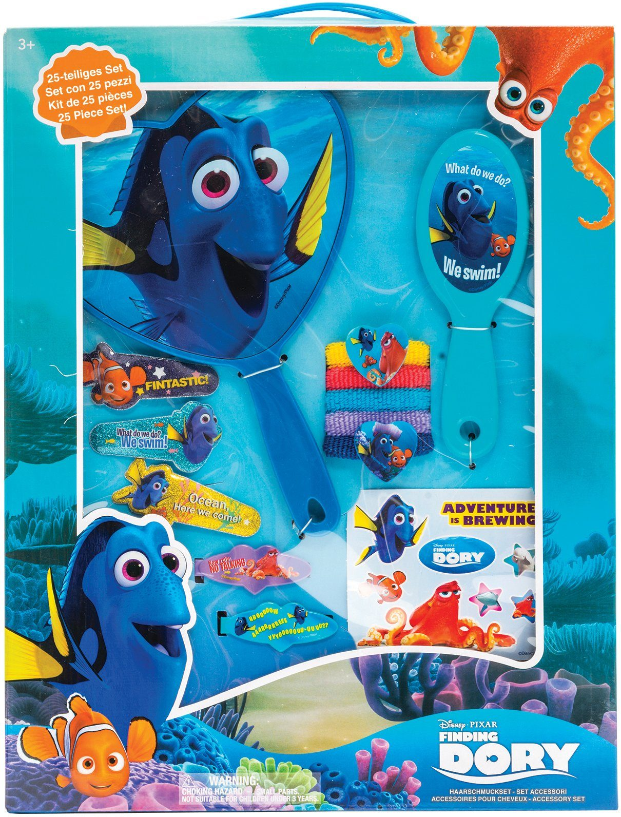 JOY TOY Accessoires Set, »Disney Pixar Findet Dorie Großes Haarschmuckset«