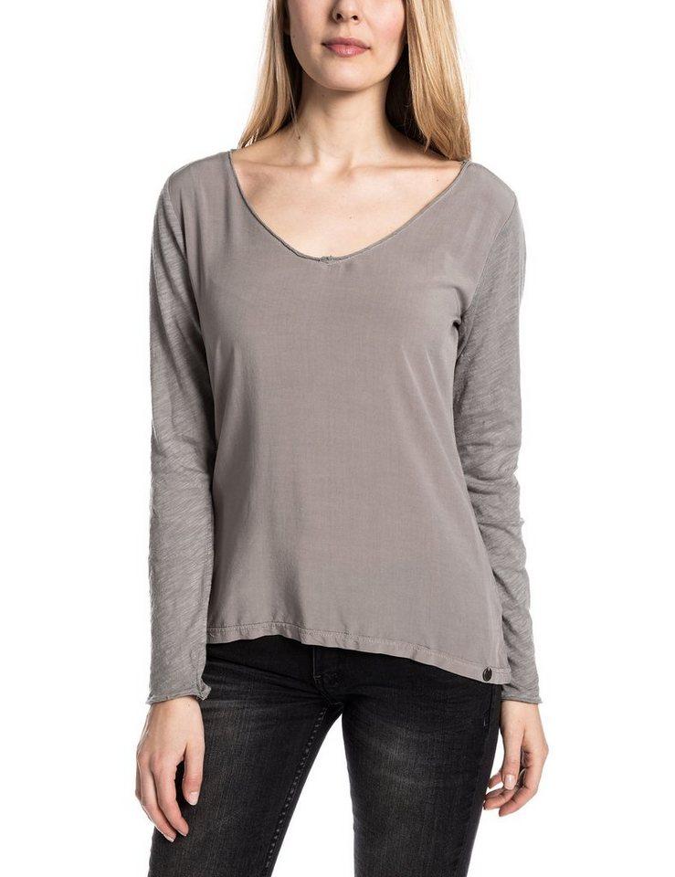 TIMEZONE Shirts (mit Arm) »MilanaTZ« in dark military grey