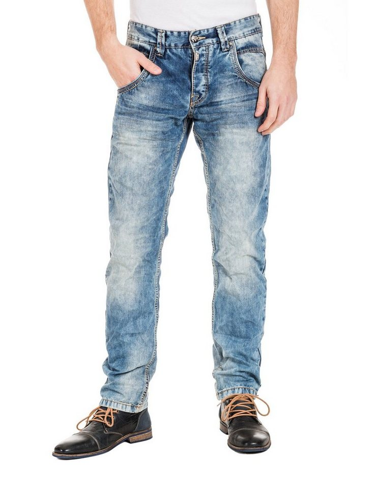 "TIMEZONE Jeans »HaroldTZ rough ""3626 chill wash""« in chill wash"