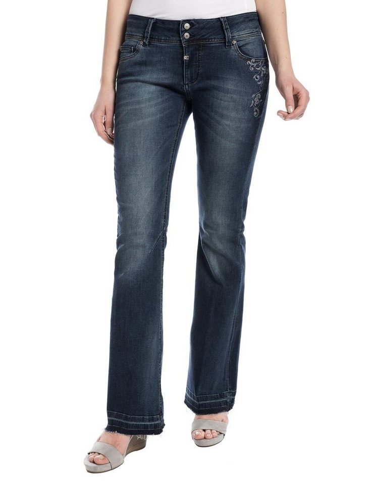 "TIMEZONE Jeans »AgnethaTZ ""3946 vintage blue wash""« in vintage blue wash"