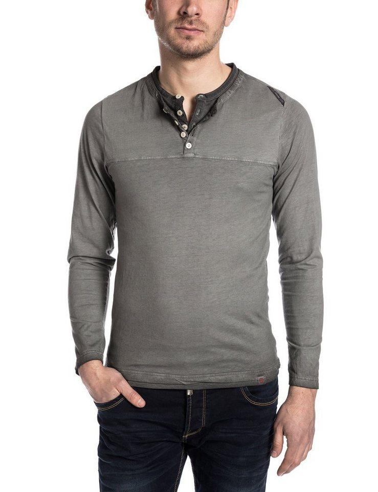 TIMEZONE T-Shirts (langarm) »TheTwinLSTZ« in pirate black
