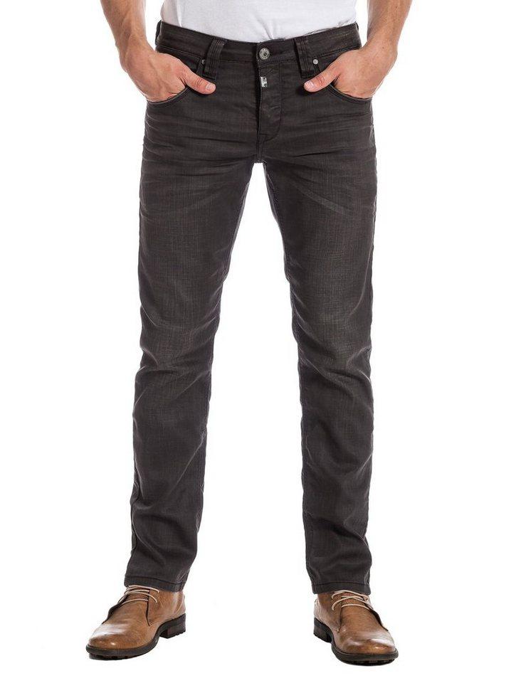 "TIMEZONE Jeans »EduardoTZ ""3820 grey rub wash""« in grey rub wash"
