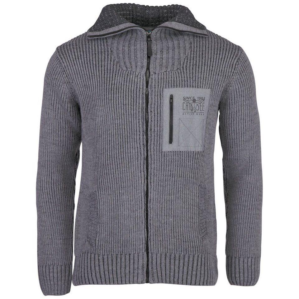 Chiemsee Strickjacke »OVE« in neutral grey me