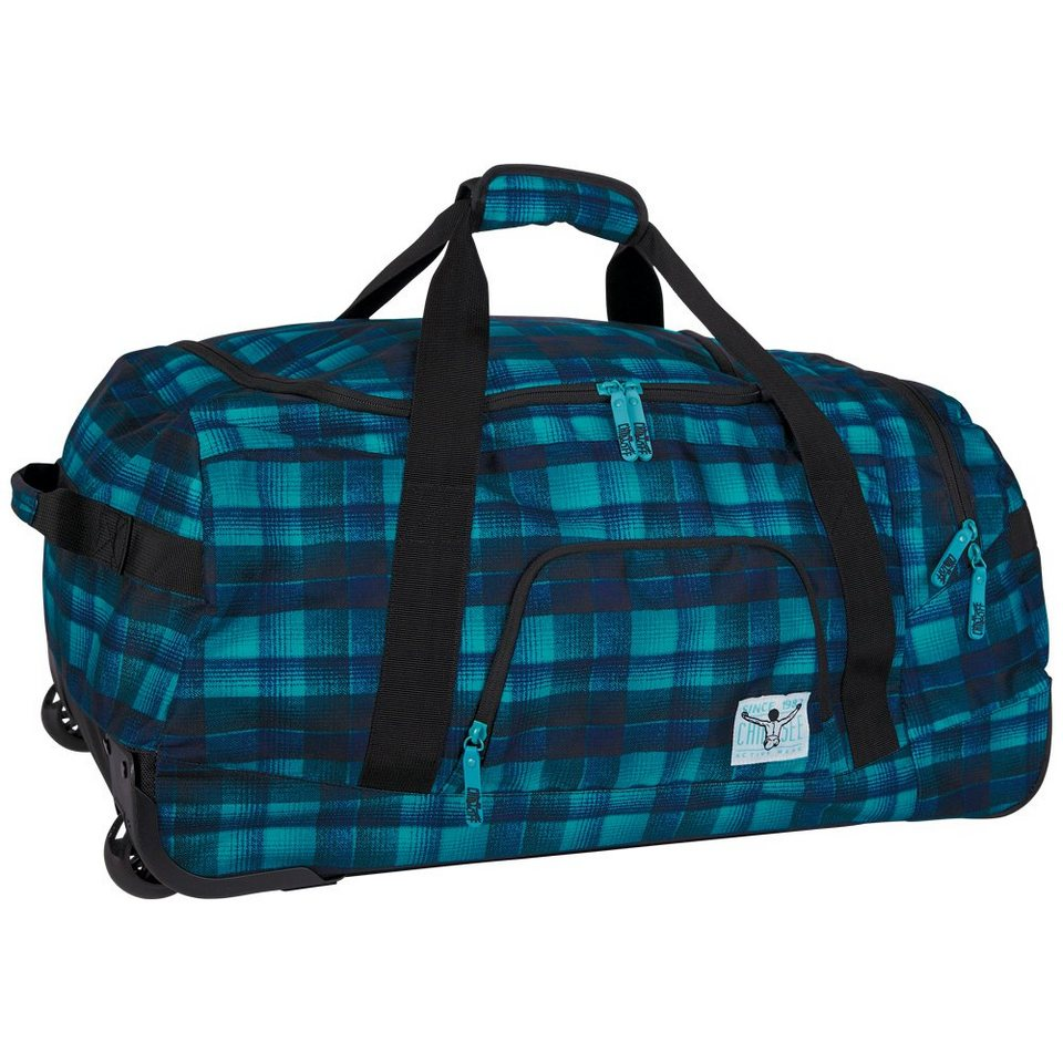 Chiemsee Reisetasche »ROLLING DUFFLE LARGE« in checky chan bl
