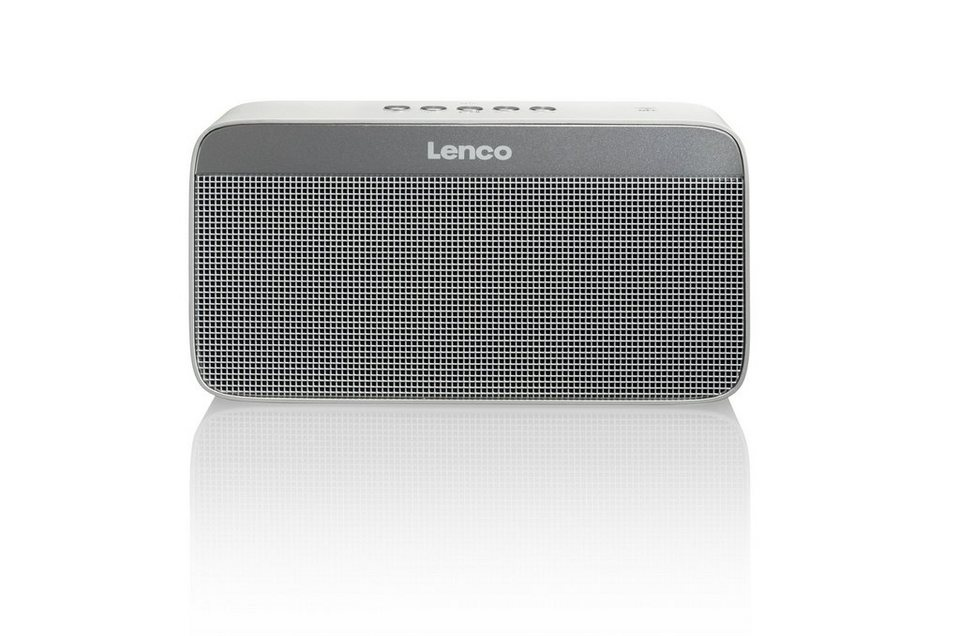Lenco Bluetooth Lautsprecher »BT-200 light« in silber